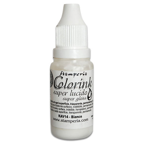 Stamperia Colorink 14ml - white KAV14