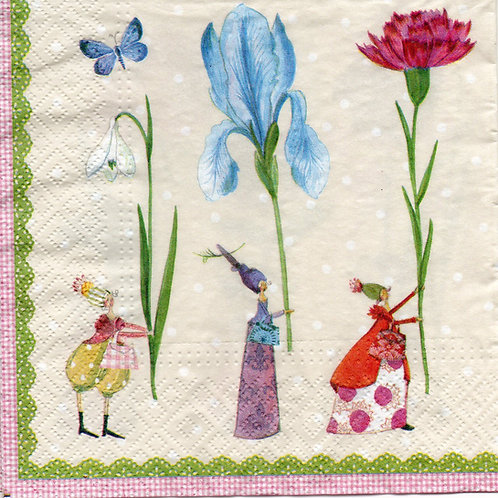 Napkins N772 Lunch size 33x33cm