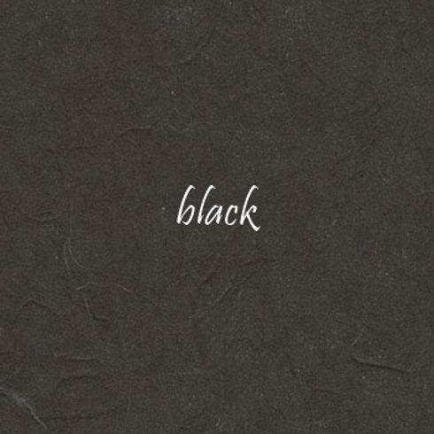 Black Plain Mulberry (rice) paper 45x64cm