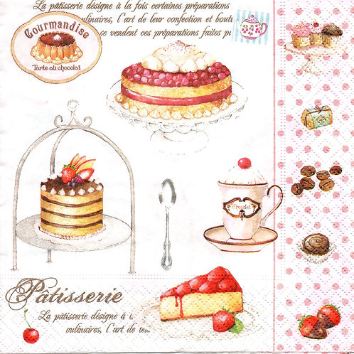 Napkins N098 Lunch size 33x33cm