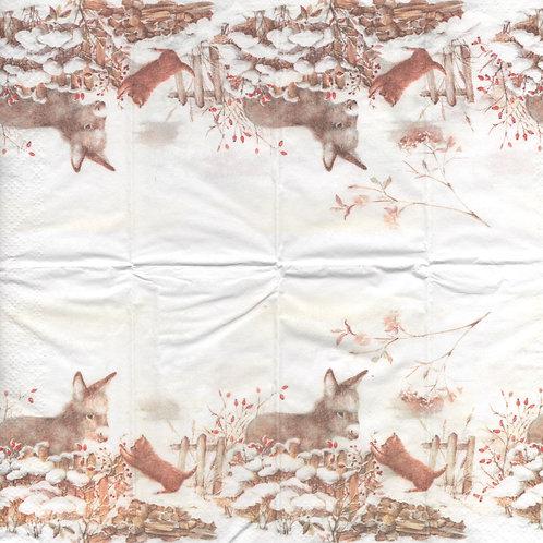 Handkerchief H004 size 21x21 cm