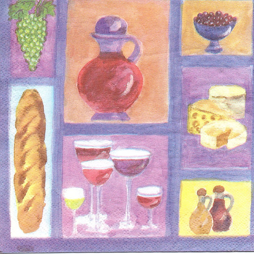 Napkins N054 Lunch size 33x33cm