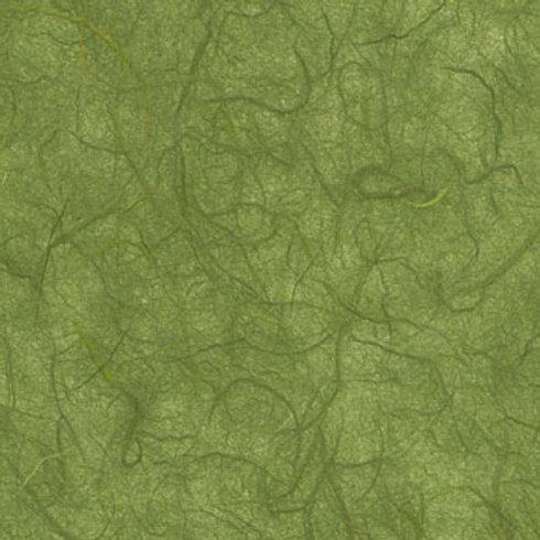 Moss green Plain Mulberry (rice) paper 45x64cm