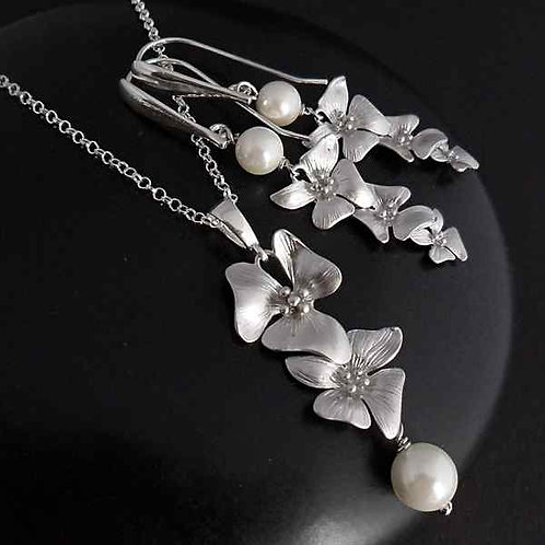 Pure - elegant jewellery set