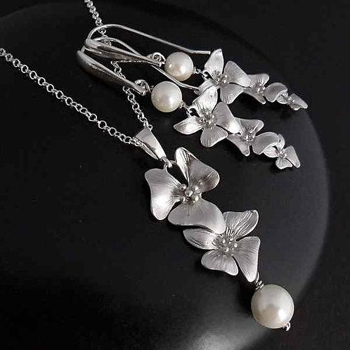 Pure - elegant jewellery set