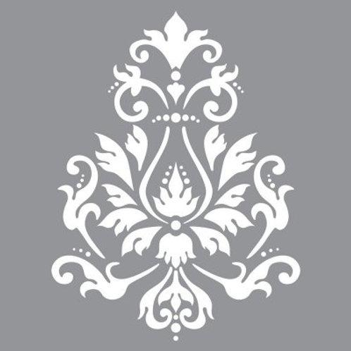 Large Stencils - Americana Decor - Brocade Motif