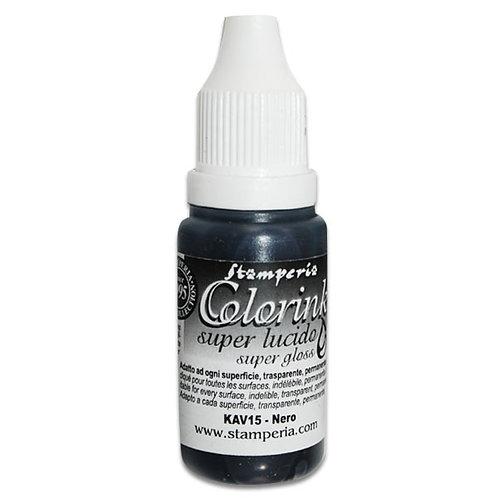 Stamperia Colorink 14ml - black KAV15