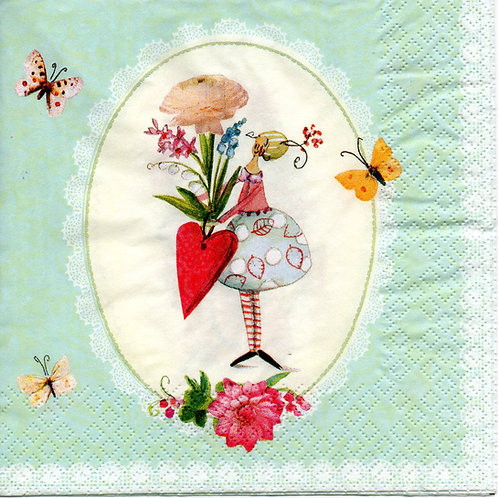 Napkins N770 Lunch size 33x33cm