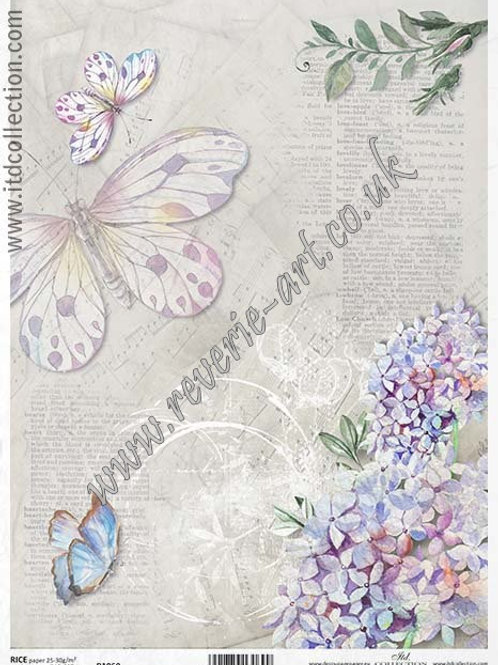 A4 rice paper R1060 Vintage backgrounds
