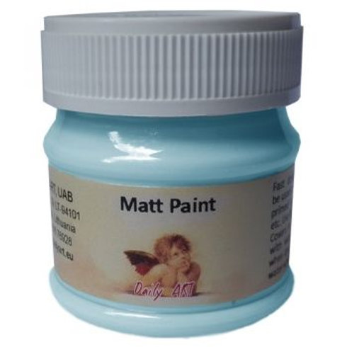 Acrylic Matt paint 50ml Daily Art LIGHT BLUE