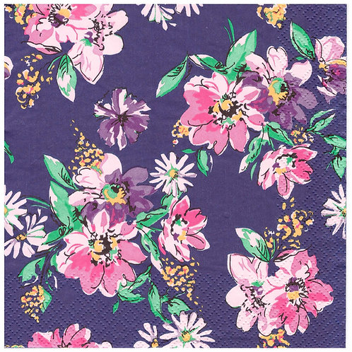 Napkins N1073 Lunch size 33x33cm Flowers