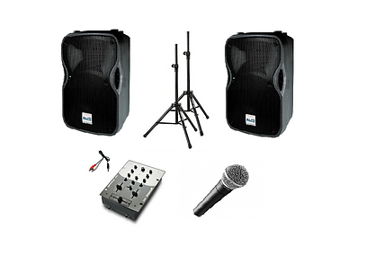 Sound-Only Pack - Audio & Lighting Hire in Perth