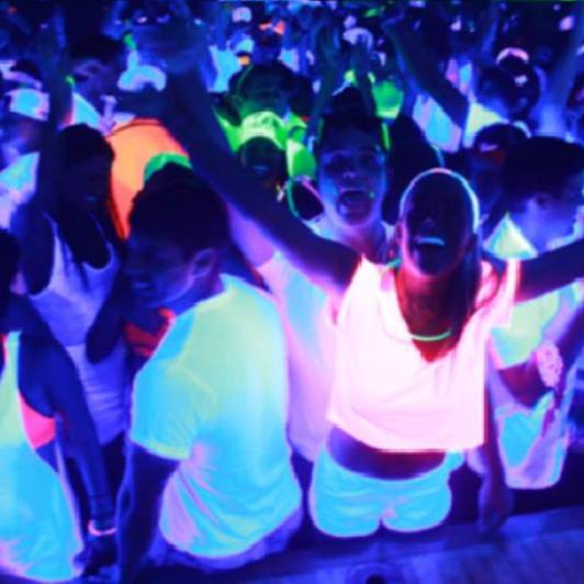 UV / Glow Party Package Upgrade