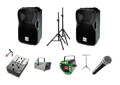 Basic Party Pack - Audio & Lighting Hire in Perth