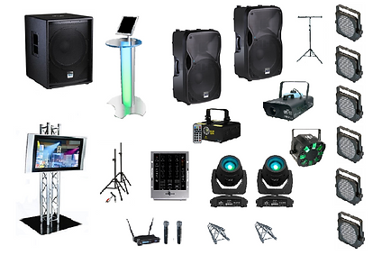 Super-Charged Party Pack - Audio & Lighting Hire in Perth