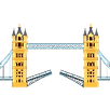 tower bridge emoji