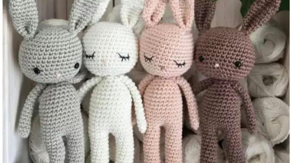 Amigurumi plain bunny
