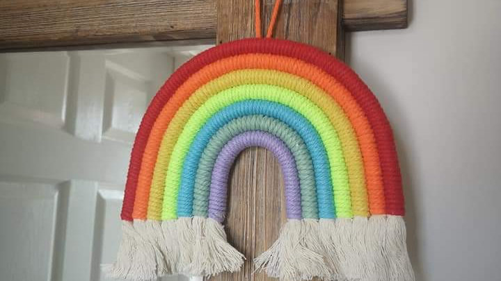 Nordic style rainbow (various colours)