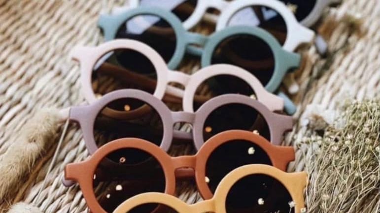 Retro Circle Sunglasses