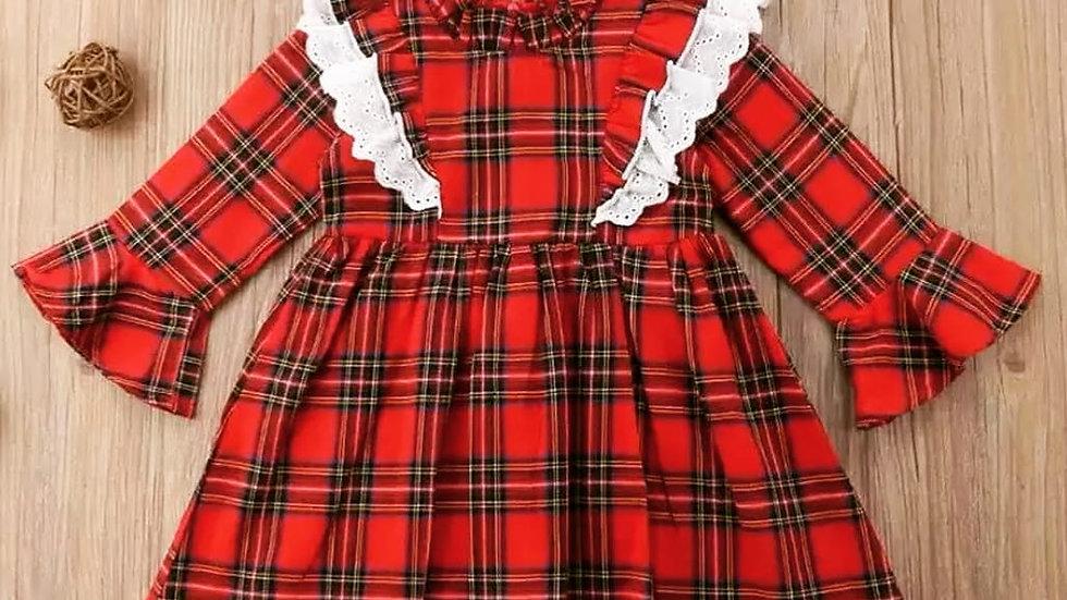 Hollie check dress