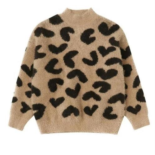 Kara fluffy knit sweater [older]