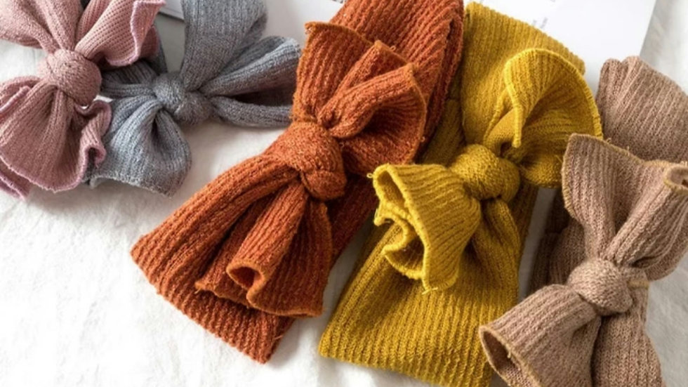 Soft knot Headbands