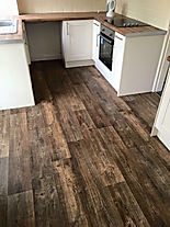 Vinyl flooring, supplied and fitted by Lee's Flooring
