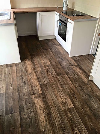 Vinyl flooring, supplied and fitted by Lee's Flooring (Pocklington)