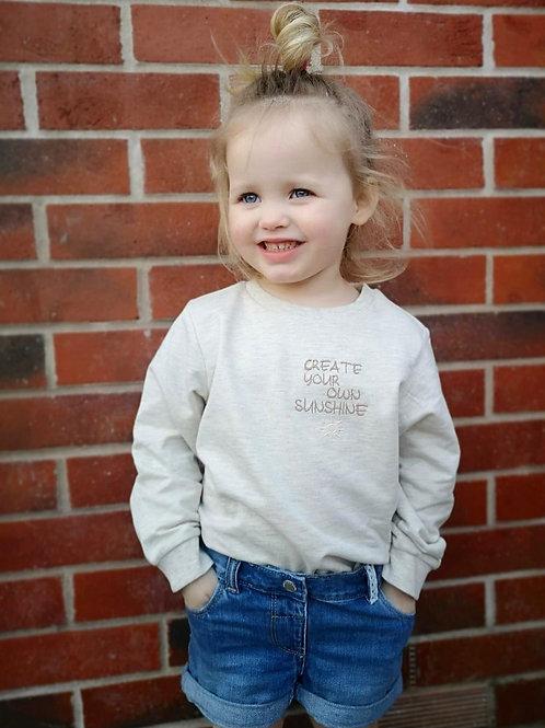 Sunshine Slogan Sweatshirt