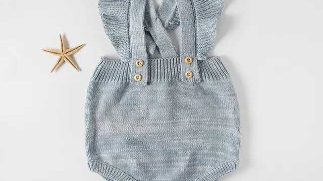 Polly Knit Dungarees