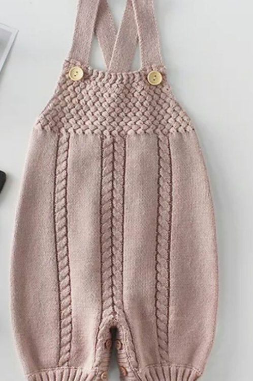 Frankie Cable Knit Romper