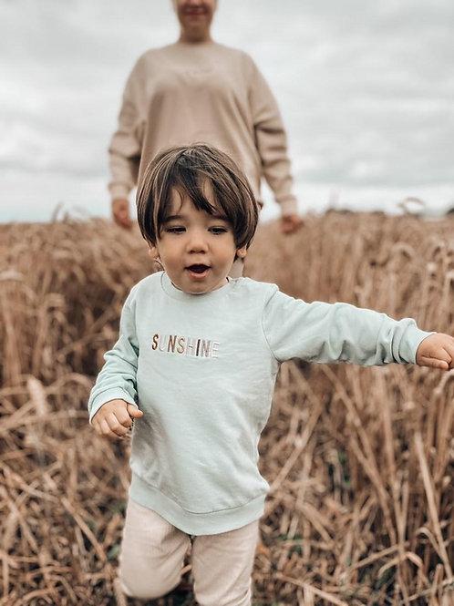 Mini SUNSHINE Sweater - neutrals
