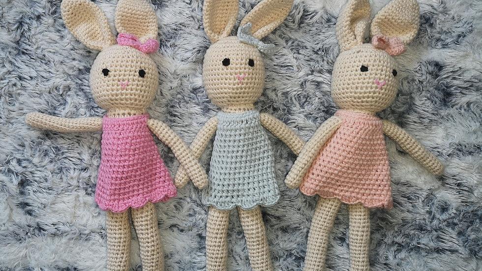 Amigurumi crochet bunny