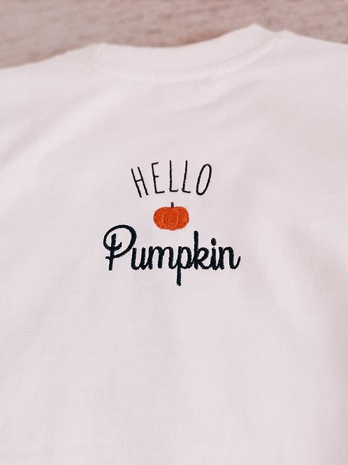 MAMA Hello Pumpkin sweatshirt