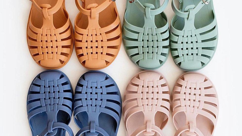 Retro Jelly Sandals