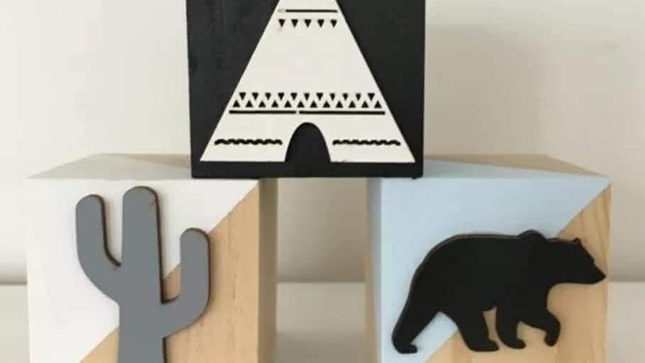 Room decor blocks