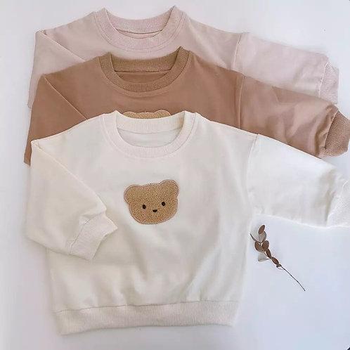 Personalised Fuzzy Bear Sweatshirt