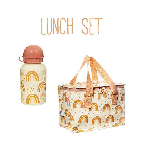Neutral Rainbow Lunch Set