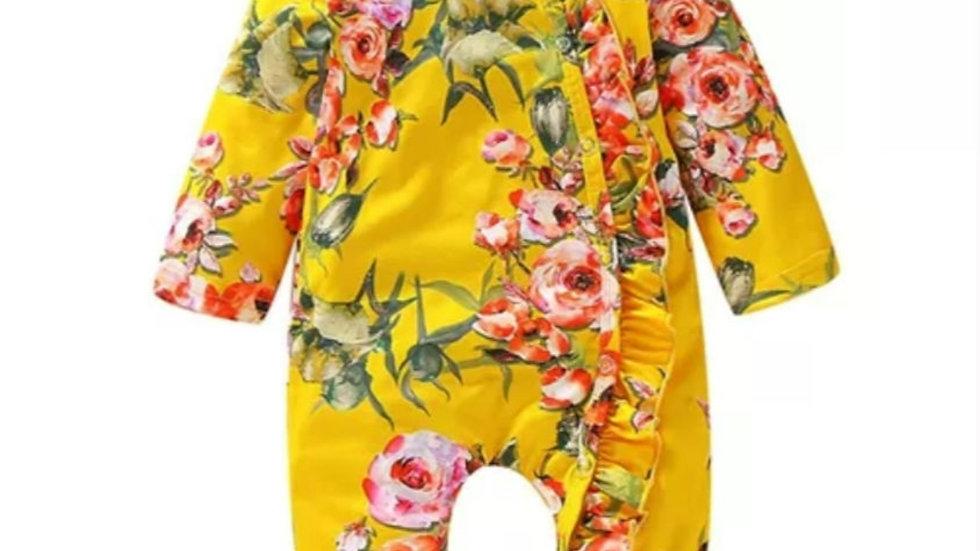 India floral Sleepsuit