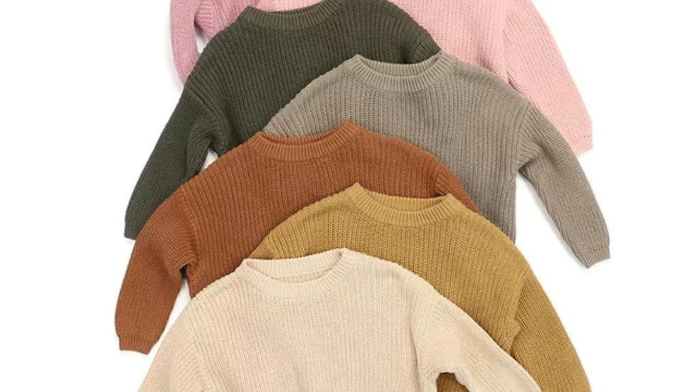 Peyton oversized knit Sweater