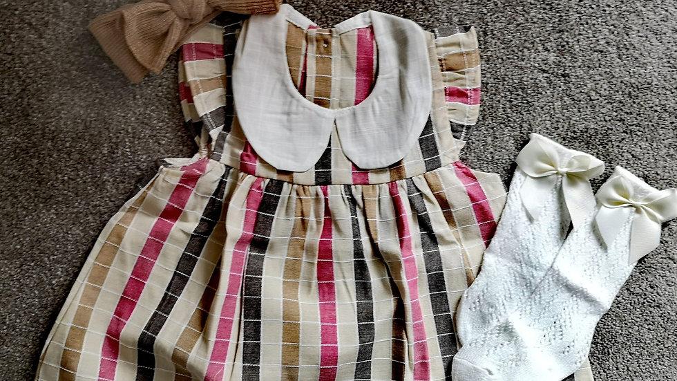 Katie collar dress