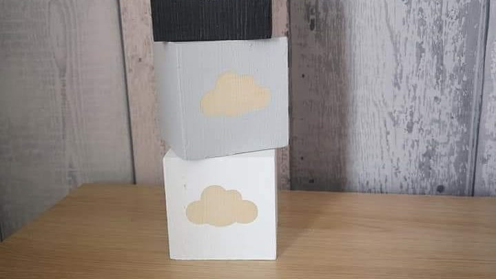 Room decor cloud blocks