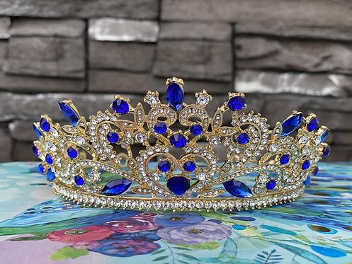 Queen Tiara in Blue