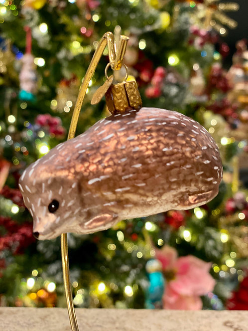 Old World Christmas Hedgehog Ornament