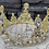 Thumbnail: Beaded Crystal Crown