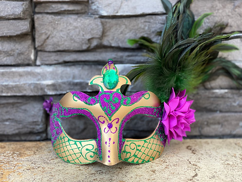 Colombina Mardi Gras Mask