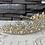 Thumbnail: Jewel Leaf Tiara in Clear/Gold