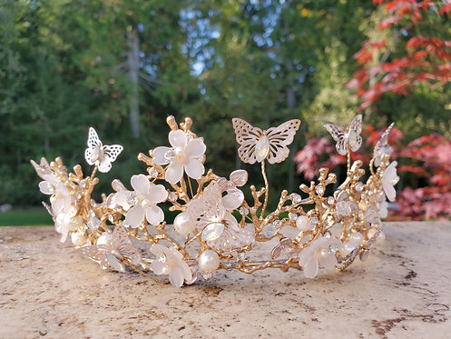 Butterfly Enchantment Tiara