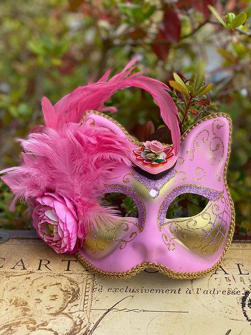 Very Merry Un-Birthday Gatto Mask