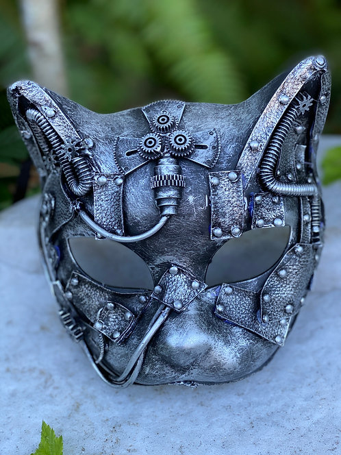Steampunk Gatto Mask
